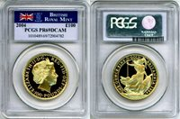 2004 GOLD GREAT BRITAIN 100 POUNDS PCGS PROOF 69 DEEP CAMEO ONLY 973 MINTED