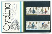 Great Britain #843-46 Cycling