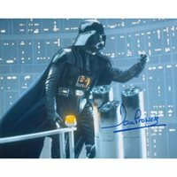 Dave Prowse signed Star Wars Darth Vader photo