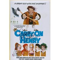 Carry On Henry comedy photo signed by Barbara Windsor