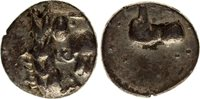 drachm 1-2 cent Bc Celtic Eastern Europe, Kugelwange Type Silver