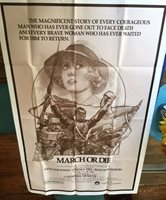 MARCH OR DIE: ONE-SHEET FILM POSTER