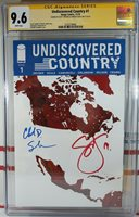CGC SS 9.6 NM+ UNDISCOVERED COUNTRY #1 SCOTT SNYDER + CHARLES SOULE Image PGX