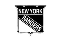 """New York Rangers NHL Decal """"Sticker"""" for Car or Truck or Laptop"""