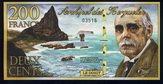 Kerguelen Islands P-NL200 Francs 2010Polymer plasticPrivate issuePrice: $4.00