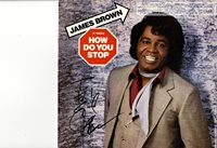 James Brown - autographed record sleeve B3980T #830