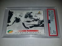 1997 Denny's 3-D Holograms #29 Jackie Robinson PSA 9 Mint POP 9