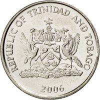 Trinité et Tobago, 25 Cents 2006, KM 32