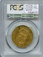 1769-PN J Colombia 4 Escudos PCGS AU 53