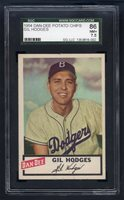 1954 Dan Dee Potato Chips Gil Hodges SGC 86