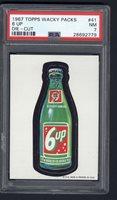 1967 Topps Wacky Packs Die Cut #41 6 Up PSA 7