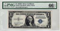 Fr.1611 $1 1935 B G-D Block PMG GEM Uncirculated 66 EPQ