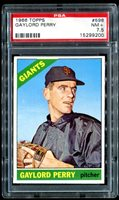 1966 Topps #598 Gaylord Perry PSA 7.5