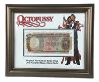 JAMES BOND OCTOPUSSY Rupee Bank Note