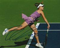 SEXY ANNA CHAKVETADZE SIGNED WTA TENNIS 8x10 PHOTO #3 Autograph PROOF