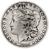 1894 Morgan 90% Silver Dollar in XF/UNC condition 1894 Morgan 90% Silver Dollar in XF/UNC condition