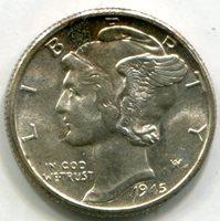 1945 Mercury Dime MS63