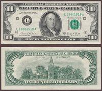 1969-C $100 FR-2166-L