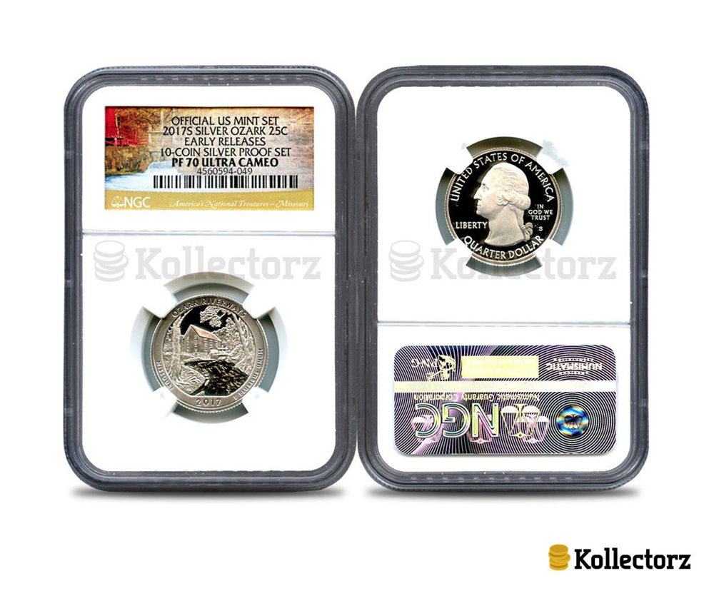 2016-S CUMBERLAND CLAD QUARTER 25c FIRST RELEASES NGC PF70 ULTRA CAMEO