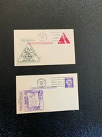 1950s and 60s Six First day of issue and Stamp Exhib. envelopes