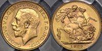 1923 Melbourne Sovereign - PCGS MS64 1923 Melbourne Sovereign