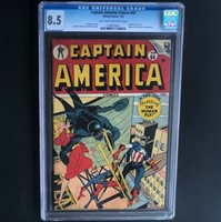 CAPTAIN AMERICA COMICS #60 (Timely 1947)  CGC 8.5  ONLY 2 HIGHER GRADED!
