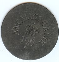 100 Øre token 1894-1926 Greenland Angmassalik