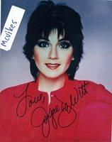 Joyce DeWitt as Janet Wood from Three's Company Autographed Signed 8x10 Photo COA