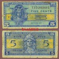 Series 521 5 Cent