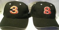 (2) NEW CITY HUNTER DALE EARNHARDT HATS CAPS 1- JR #8 & 1- SR #3 CAP HAT W/TAG