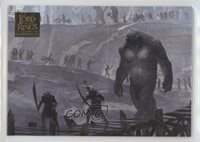 2006 Topps Lord of the Rings Masterpieces EA Paintings March Inhumans #60 5f7