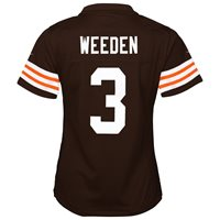 2e3aaf7f Colt McCoy Cleveland Browns Nike Home Brown Jersey Girl