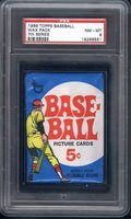 1969 Topps 7th Series 5 Cent Wax Pack PSA 8