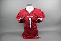 Neil Rackers Autographed Game Issued/Worn Cardinals Jersey
