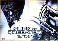 ALIEN VS PREDATOR original 1 sheet mediathek poster 2005