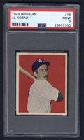 1949 Bowman #16 Al Kozar PSA 9