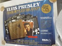 Elvis Presley Golden Celebration 50th Anniversary poster from RCA Records