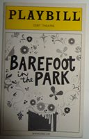 BAREFOOT IN THE PARK - PLAYBILL - OPENING NIGHT: FEB 16, 2006 Cort Theatre