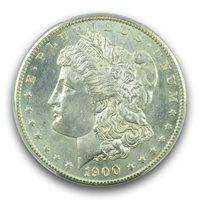 1900-S $1 Morgan Dollar PCGS MS63