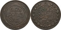 8 Kharub 1864 Tunesien Abdul Aziz Copper