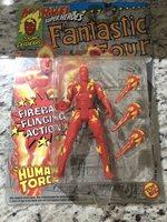 1992 MARVEL SUPER HEROES FANTASTIC FOUR HUMAN TORCH ACTION FIGURE ToyBiz