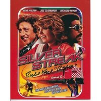 Gene Wilder & Richard Kiel signed Sliver Streak comedy movie picture