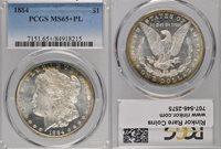 1884 MS65+ PL PCGS & CAC $1