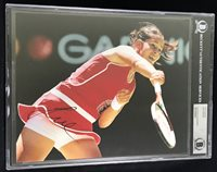 ANA IVANOVIC NO1 WORLD 2008 FRENCH OPEN CHAMPION SIGNED PHOTO BECKETT BAS ACTION