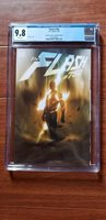 Flash 750 Planet Awesome Bosslogic Variant Cover A CGC 9.8