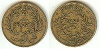 TUNISIA - French protectorat (1881-1956) 2 Francs 1921 VF