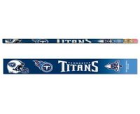 Tennessee Titans Pencils 6 pack