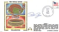 Pete Rose Autographed / Signed 1980 World Series First Day Cover