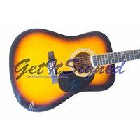 Brett Eldredge Autographed Acoustic Guitar