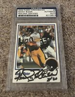 2002 Fleer Throwbacks Rocky Bleier PSA/DNA Certified Authentic Signed Auto